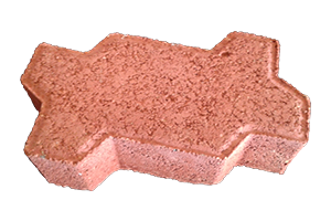 RED 60MM PAVER