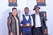 1st-runner-up-nust-muranda-titus-with-hon-j-mhlanga-and-mr-a-nhau